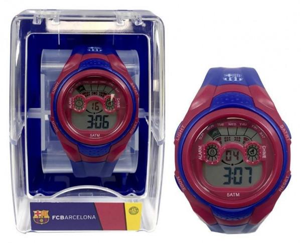 Reloj de pulsera digital infantil del FC Barcelona
