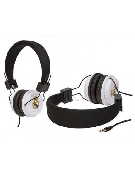 Cascos auriculares Real Madrid stéreo diadéma blanca
