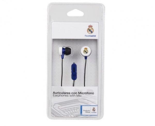Auriculares con micrófono Stéreo Real Madrid