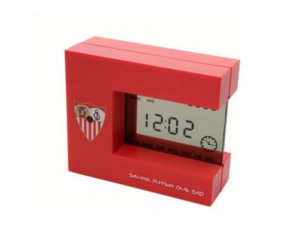 Despertador muntifuncion digital Sevilla FC