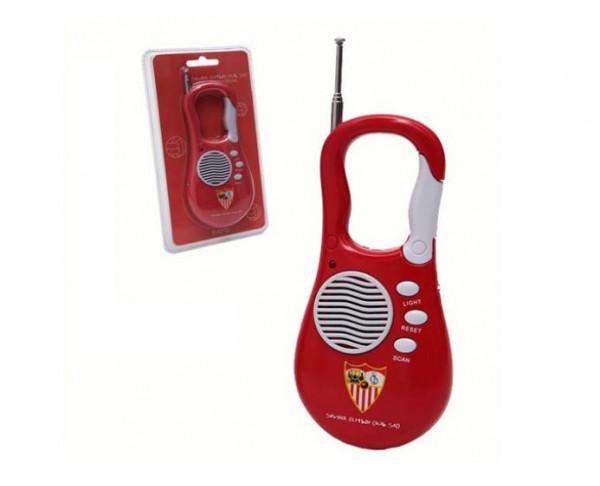 Radio Fm tipo mosquetón Sevilla FC