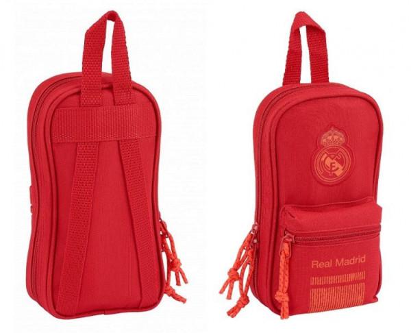 Mini mochila multiestuche Real Madrid 33 piezas