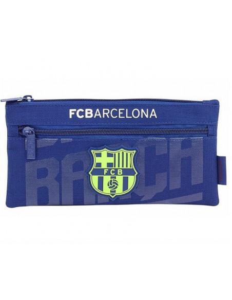 Estuche FC Barcelona dos cremalleras 2º equipación 2018-19
