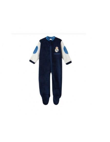 Pijama infantil Real Madrid de suave tejido coralina