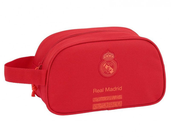 Neceser Real Madrid con asa adaptable a carro escolar