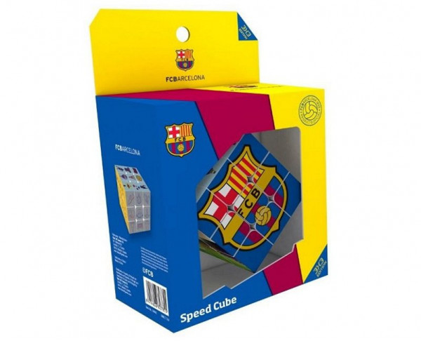 Juego cubo Rubik FC Barcelona