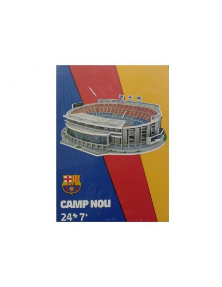 Puzzle maqueta Camp Nou 24 piezas
