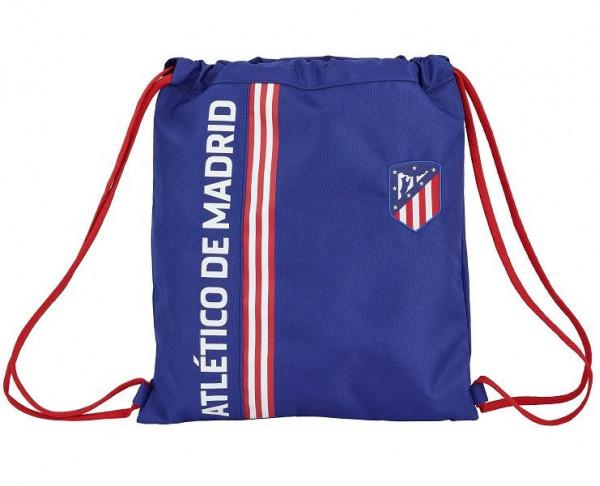 Saco plano Atlético de Madrid para llevar a la espalda