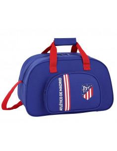 Bolsa de deporte y Atlético de Madrid azul