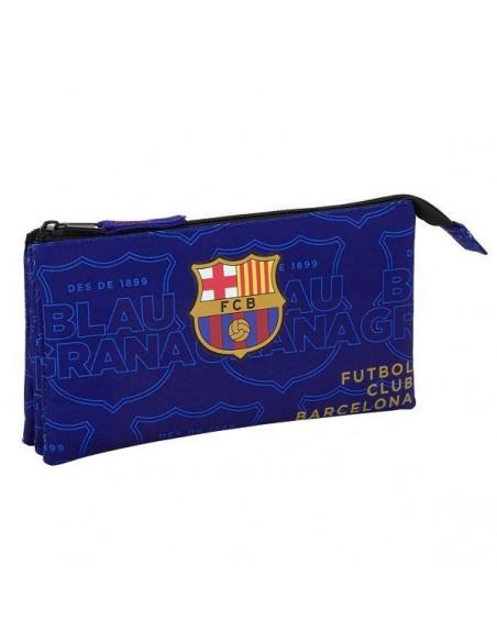 Estuche FC Barcelona triple blaugrana