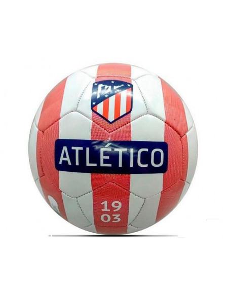 Balón de reglamento rojiblanco Atlético de Madrid 1903