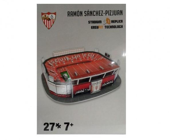 Maqueta 3D Estadio Ramón Sanchez Pizjuan Sevilla FC