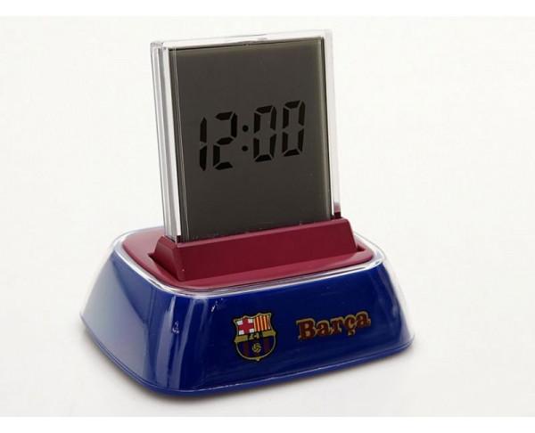 Reloj despertador digital con base del FCBarcelona