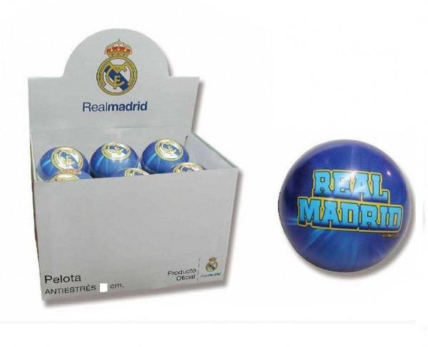 Pelota blanda de goma anti stress Real Madrid