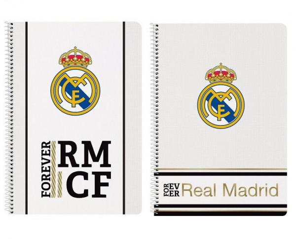 Cuaderno tamaño folio Real Madrid or Ever RMCF