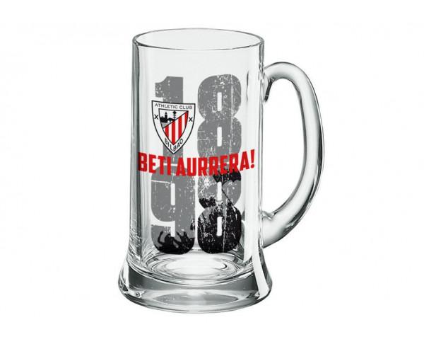 Jarra de cerveza del Athletic Club de Bilbao gigante