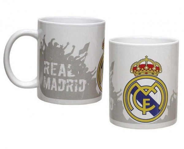 Taza de porcelana del Real Madrid Afición