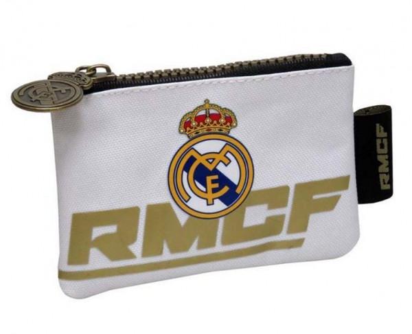 Monedero infantil de tela Real Madrid