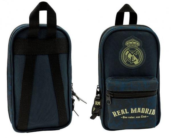 Multiestuche con accesorios escolares Real Madrid 33 piezas