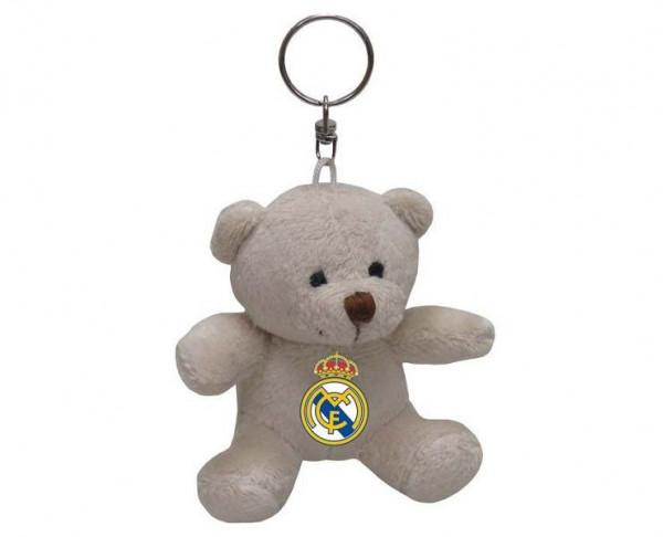 LLavero osito Real Madrid con escudo en el pecho