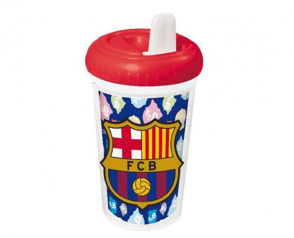 Vaso antigoteo bebé para aprender a beber FC Barcelona