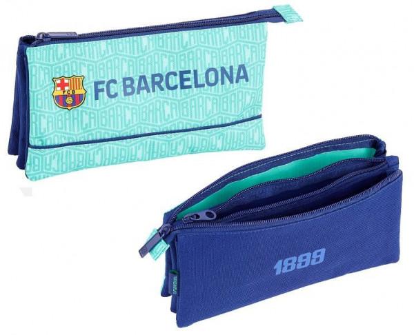Estuche tercera equipación FC Barcelona tres departamentos