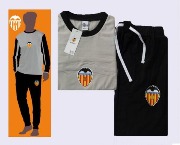 Pijama manga larga infantil Valencia CF