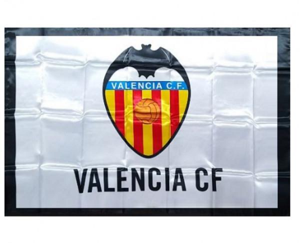 Bandera grande de poliester Valencia CF