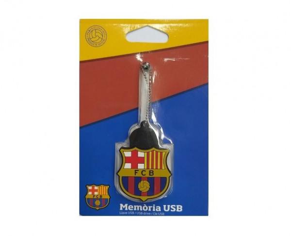 Memoria USB escudo FC Barcelona 8 GB