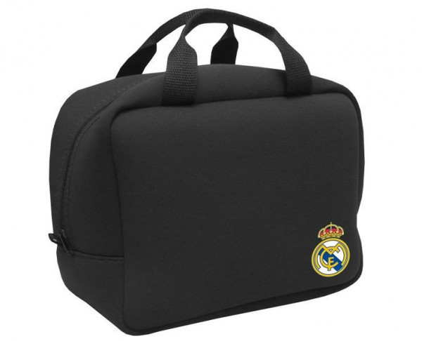 Bolsa portacomida de neopreno con asas Real Madrid