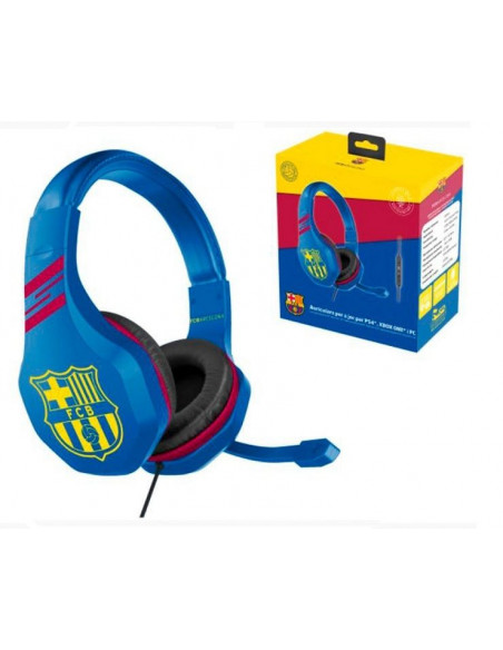 Auriculares para juegos chat PS4  XBox One FC Barcelona