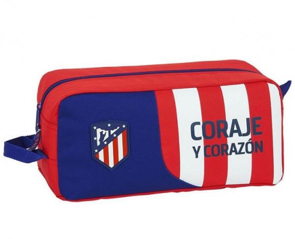 Zapatillero grande Atlético de Madrid Coraje y Corazón