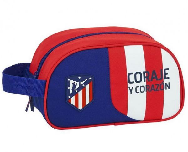 Neceser con asa Atlético de Madrid 2020 Coraje y Corazón