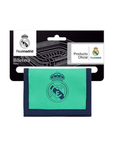 Billetero con monedero Real Madrid tercera equipacion