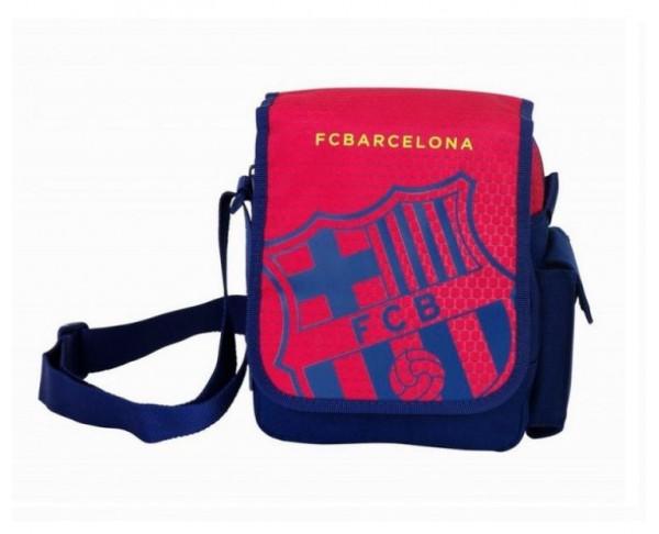 Bolso bandolera FC Barcelona con solapa Azulgrana