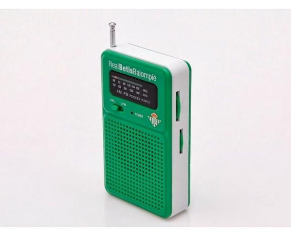 Radio de bolsillo del Real Betis Balompié