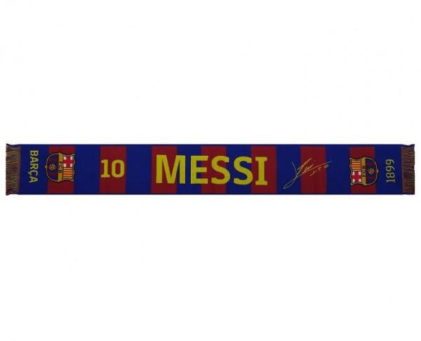 Bufanda Barca Messsi del FC Barcelona