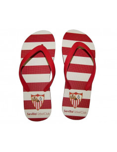 Chanclas abiertas Sevilla FC  tallas numeros del 33 al 46