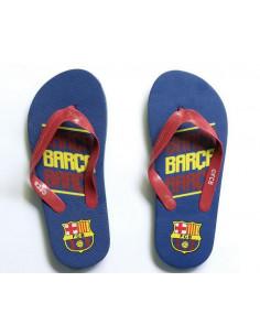 Chanclas de verano infantiles FC Barcelona 27 al 34