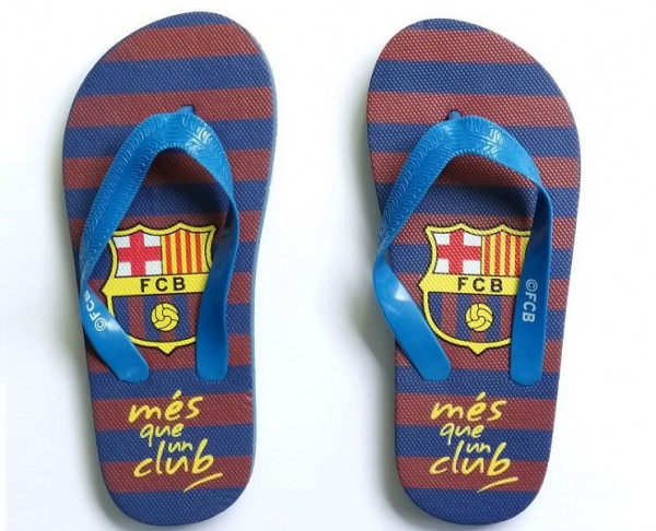 Chanclas infantiles Mes que un Club FC Barcelona