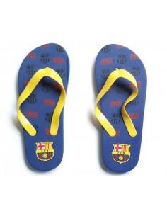 Chanclas para niños del FC Barcelona números 27 al 34
