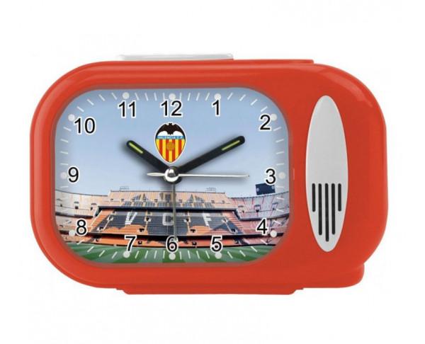 Reloj despertador musical con Himno Valencia CF