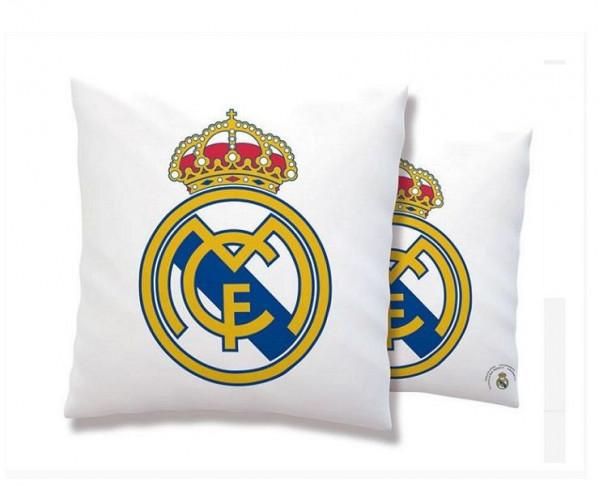 Cojín cuadrado con relleno anti stress Real Madrid