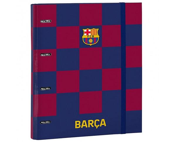 Carpeta con anillas FC Barcelona con...