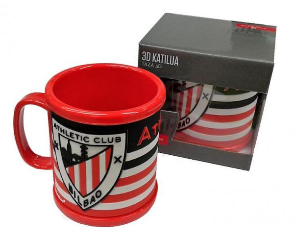 Taza Athletic Club de Bilbao en relieve 3D