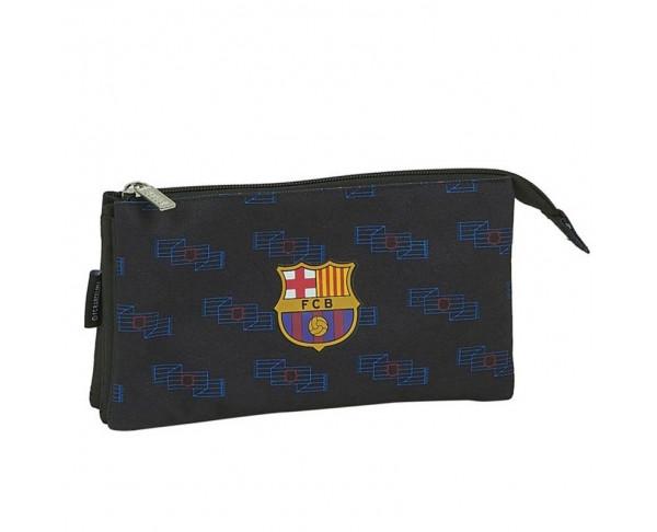Estuche FC Barcelona grande tres...