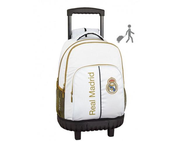 Mochila con carro compac Real Madrid...