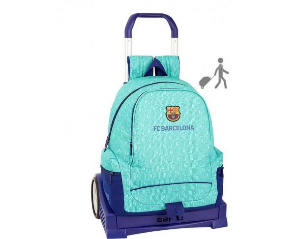 Mochila grande FC Barcelona con carro...
