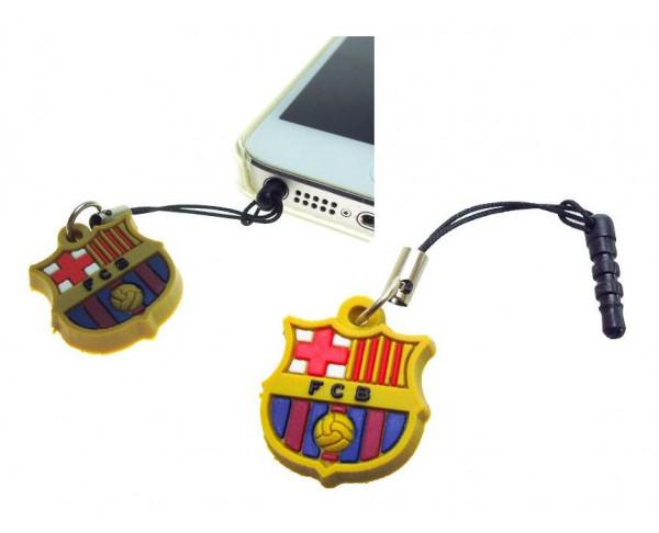 Escudo Real Madrid orificio auriculares smarphone