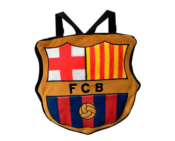 Mochila infantil Escudo de peluche FC...
